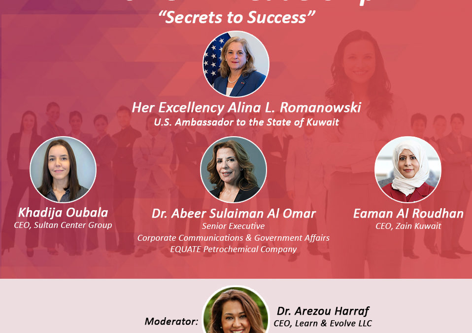 ABCK-AmCham Kuwait hosts a Women in Leadership Panel Discussion
