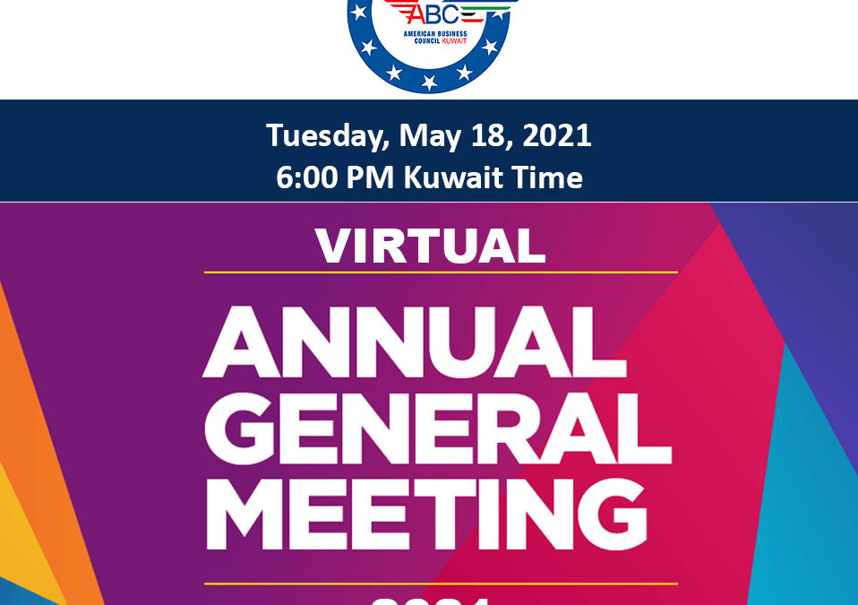 ABCK-AmCham Kuwait's Annual General Meeting of 2021